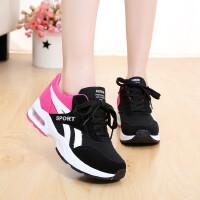 运动鞋平底低帮帆布鞋气垫女大童学生鞋跑步鞋休闲鞋