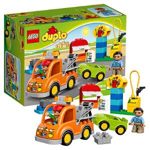 [当当自营]LEGO 乐高 得宝系列 小拖车 积木拼插儿童益智玩具 10814