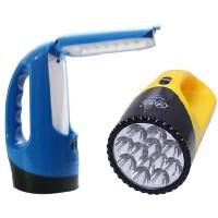 雅格YG-3337多功能灯 充电式应急灯 LED手电筒台灯两用灯