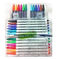日照鑫 新款韩国慕娜美水彩笔artro4030水性笔绘图笔勾线笔12色套装1.0mm