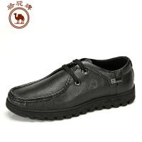 骆驼牌新款男鞋 日常休闲男士鞋子流行男鞋低帮鞋