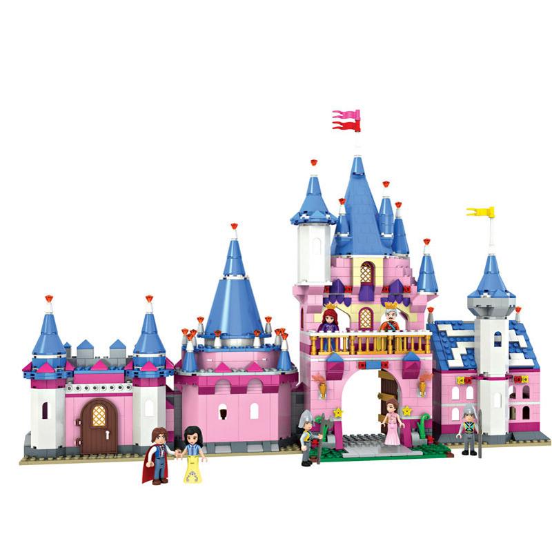 豪华宫殿城堡矢量图