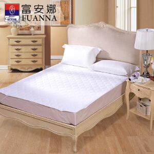[当当自营]富安娜床垫磨毛印花保护垫 轻柔薄床垫 白色 180*200