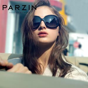 帕森 太阳眼镜 女 新款时尚复古偏光镜 大框眼镜太阳镜 墨镜 6216