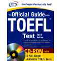 The Official Guide to the TOEFL iBT with CD-ROM, Third Edition ETS新托福考试官方指南第3版