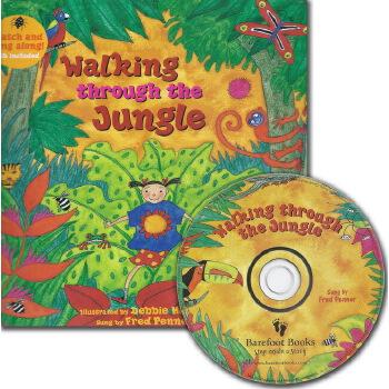 Walking through the Jungle (A Barefoot Singalong)穿过丛林(书+CD)ISBN9781846866609