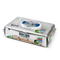 XJB040 心相印 厨房清洁湿巾40片/包 餐具橱柜用去油污湿纸巾
