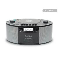 cd机 便携 熊猫CD机CD-900录音机磁带收录机胎教机 u盘 DVD机 USB磁带机播放机 DVD VCD CD MP3 WMA MP4多功能播放