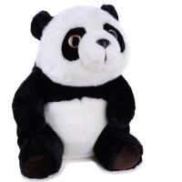 凯弘 功夫熊猫大侠 毛绒玩具 熊猫坐姿 毛绒公仔抱枕玩偶 生日礼物
