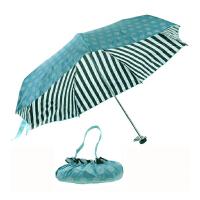 清仓!!+包邮!! 天堂伞 经典条纹 五折伞 黑胶遮阳防晒防紫外线 太阳伞 小巧不占地