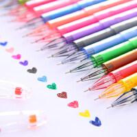 UMI文具韩国可爱钻石头签字笔 碳素笔 创意笔黑笔彩色水笔中性笔