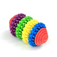 Madden 麦豆宠物用品 狗狗玩具 益智七彩转环玩具 磨牙健齿无毒滑动齿轮2204027