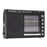 熊猫 6121 收音机 全 波段 收音机MP3 插卡收音机 便携收音机 老年人收音机 迷你收音机