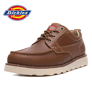 Dickies 2016新款商务休闲鞋潮流透气工装鞋 163M50LXS29
