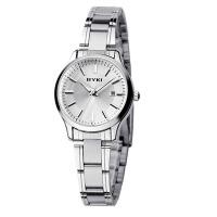 2017年新款 EYKI/艾奇 休闲情侣手表之女表 石英表 8598白色