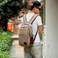 【支持礼品卡支付】旅行包帆布包双肩背包男士双肩包中学生书包休闲包电脑包