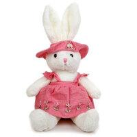 凯弘 生日礼物送女友老婆爱人朋友孩子创意礼品 乡村兔子毛绒玩具