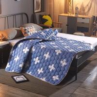 冰丝席床笠款 加厚夏凉席水洗可折叠床单式1.5米1.8m席子床护垫床垫