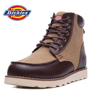 Dickies休闲鞋男鞋新款英伦休闲鞋男士工装鞋164M50LXS27
