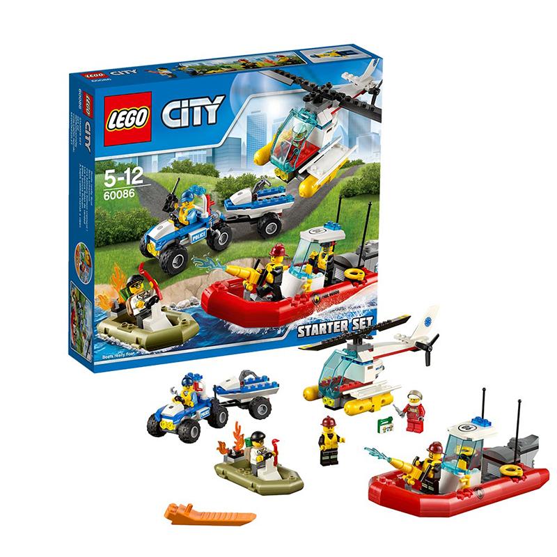 [当当自营]LEGO 乐高 CITY城市系列 乐高城市入门套装 积木拼插儿童益智玩具 60086【当当自营】乐高3月份新品 适合5-12岁,242pcs 小颗粒积木