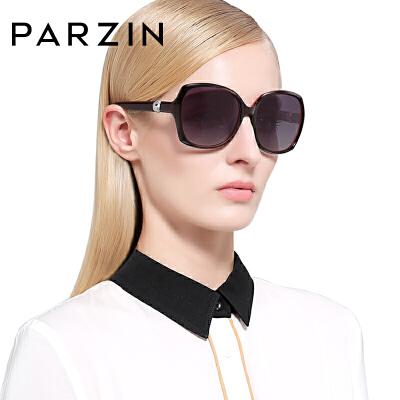 帕森新款时尚复古女士偏光太阳镜 优雅大框墨镜 驾驶镜 9223【免运费】满198减15 399减40 599减60