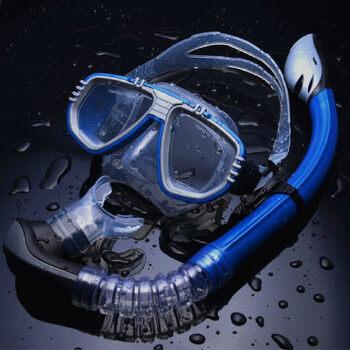浮潜装备_专业浮潜装备游泳镜潜水面罩全干呼吸管套装