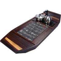 尚帝 乌金石船木茶盘排水式BH2014-357A