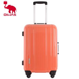 Oiwas爱华仕 铝框硬拉杆箱旅行箱包男女式万向轮登机箱PC箱6081