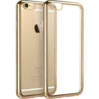 【当当自营】 ESR亿色 iPhone6/6s手机壳 电镀边框软壳 初色晶耀系列 香槟金