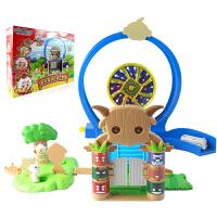 奥迪双钻 (AULDEY)喜洋洋与灰太狼儿童玩具套装 羊村互动乐园大套装591107