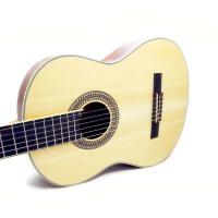 支持货到付款  单板吉他 沙比利背侧版 进口亚光漆 面板单板吉他 古典吉他 初学 入门 专业 中级  古典吉他 进口哑光漆 (送:防雨背包+古典吉他套弦+拨片+调节扳手+《即兴之路》教材+CD)GC-206NT