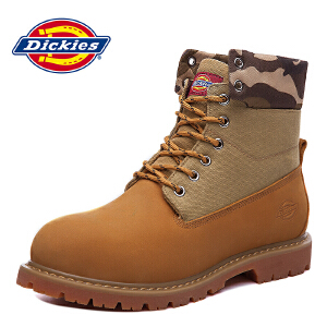 Dickies秋季新款 男鞋工装靴子 马丁靴 户外163M50LXS30