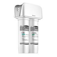 【当当自营】 PHILIPS飞利浦 WP4120/00型净水器 高容量活性炭棒+除菌膜+压缩活性炭
