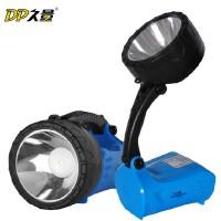 【包邮】久量LED755 2瓦大功率远射充电应急灯高亮探照灯家用充电手电筒探射灯