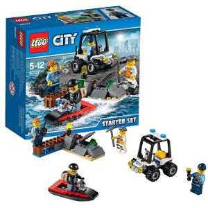 [当当自营]LEGO 乐高 城市系列 监狱岛入门套装 积木拼插儿童益智玩具 60127