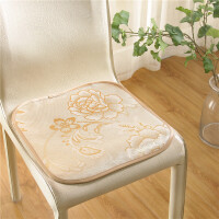 晶丽莱夏季夏季坐垫餐椅垫凉席椅子垫冰丝垫子H