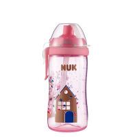 【当当自营】NUK 防漏软管吸管杯300ml 颜色随机 水壶/水杯/吸管杯