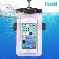 Teoobl手机户外漂流防水袋 苹果iPhone小米华为HTC三星触屏手机漂流包/臂包 游泳防水保护套/臂带 相机潜水套漂流游泳收纳包