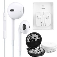 Apple苹果原装 EarPods 线控耳机 新款苹果iPhone5原装入耳式耳机带麦克-iPhone6/4S iPad4 mini touch5耳机【赠耳机收纳盒】