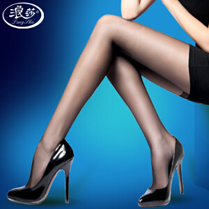 【6条装丝袜包邮】浪莎丝袜超薄连裤袜性感防勾丝黑丝显瘦肉色长筒袜女(98313)