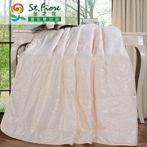 [当当自营]富安娜纯棉夏被空调被1.2米1.5米床 佳梦七孔夏薄被 白色 1.2米