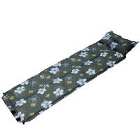 户外露营自动充垫印花款 单人野外防潮垫 可折叠拼接