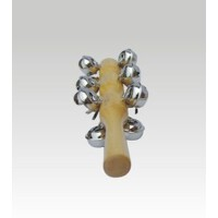 奥尔夫乐器 儿童音乐玩具 打击乐器 13铃 棒铃(摇铃)