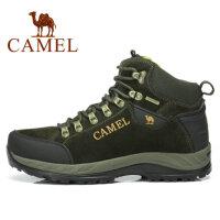 camel骆驼户外鞋徒步鞋 反毛皮 男款 登山徒步鞋