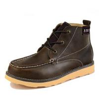 男士短靴男鞋潮 男靴马丁靴 男靴子工装靴 军靴英伦棉鞋