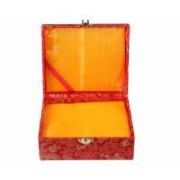 好吉森鹤/北京50元包邮//18x15x8cm/尺寸/印章锦盒/包装用锦盒收藏锦盒/包装盒子---2个+送品JZ42