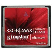 金士顿(Kingston)32G 266X CF存储卡(CF/32GB-U2)超高速45m/s