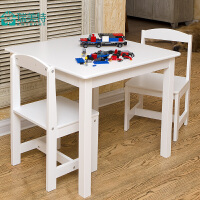 瑞美特儿童桌椅套装宝宝书桌椅学习桌写字桌幼儿园桌椅子玩具桌