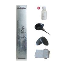 欧莱雅 染膏 美丝丽染发膏 植物染发剂 完全覆盖白发 多色号50g