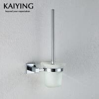 【工厂直营】凯鹰 优质铜镀幻方卫浴挂件 浴室挂件 马桶刷/厕刷架KY-7605